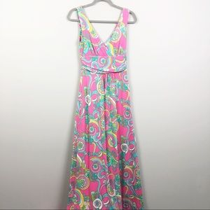 Lilly Pulitzer | Sloane Silk Blend Maxi Dress